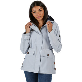 Regatta Ninette Waterproof Shell Jacke Damen ticking stripe
